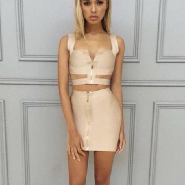 Zachary the label knowles bandage top