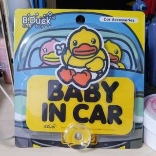 全新B.Duck Car Signs