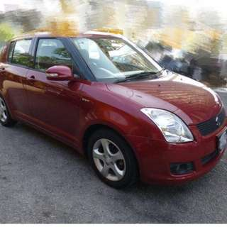 Suzuki Swift 1.5 year 2010