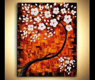 Beautiful 3D Cherry blossom Painting
