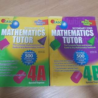 Casco maths tutor 4A 4B