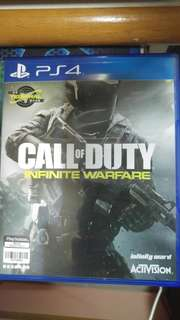 Ps4 call of duty infinty warfare