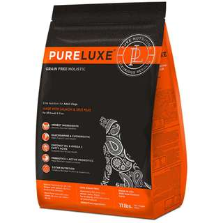 Pureluxe Elite Nutrition for Adult Dogs - Salmon & Split Peas (Skin & Coat) 4lb
