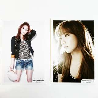 【Girls'Generation Taeyeon's 4x6 Offical Pictures】