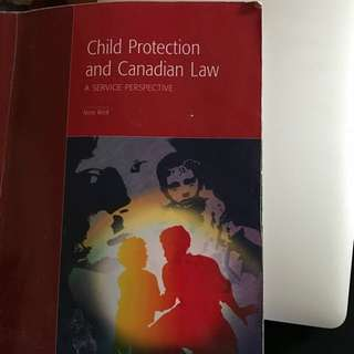 CYC 201 Child Protection & Canadian Law