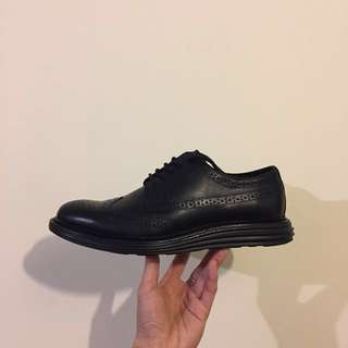 JIMMY BLACK LEATHER SHOES