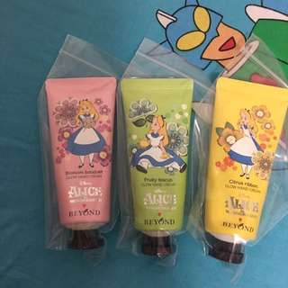 🈹Alice x Beyond hand cream