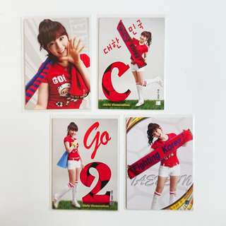 【Girls' Generation Taeyeon's World Cup Photocards】