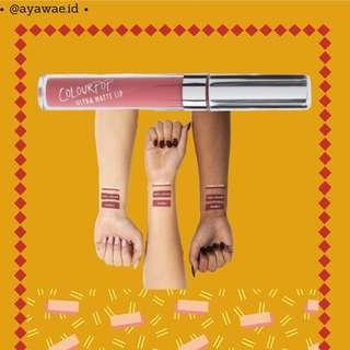 Colourpop Ultra Matte Lip Bumble ori