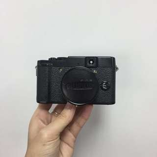 Fujifilm X10 all black