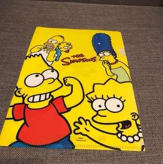 Simpson's A4 folder