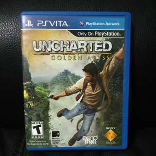 [PS Vita] Uncharted Golden Abyss