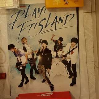 PLAY! FTISLAND 海報 poster