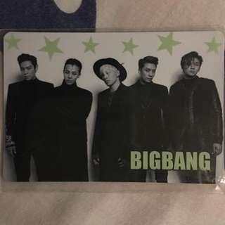 Bigbang夜光卡