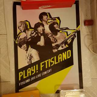 FTISLAND CD/DVD poster