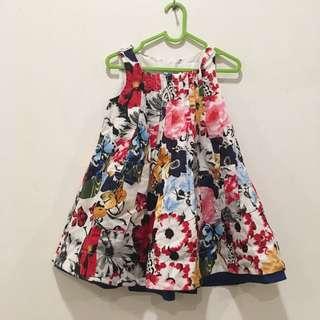 Dress pattern kantong