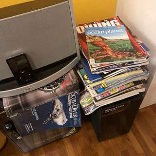 FREE DIVE MAGAZINES To Give Away
