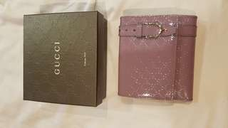 Elegant purple Gucci wallet