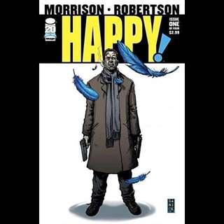 HAPPY! #1 (2012) SyFy TV Show  Grant Morrisson