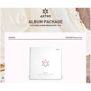 【Preorder】Astro 5th Mini Album -DREAM PART 0.2 (with ver. Limited Edition)