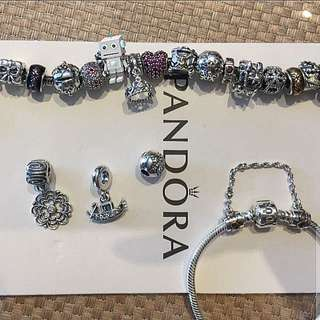 <Bumping Listing>RELOCATION! Authentic Pandora Charms (Offer pls)