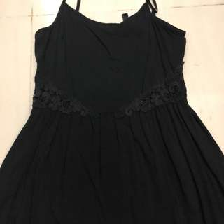 Dress black h&m