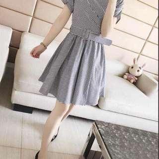Blue stripe Dress