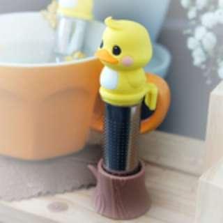 🇰🇷韓國正版 (Y5807) mikeep 黃鴨便攜通用茶包 Yellow Duck Tea infuser