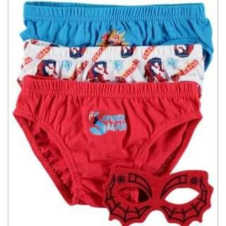 3 Pack Underwear/ Briefs