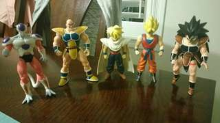 Dragonball Z: Real Irwin Figures