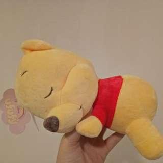 迪士尼ufufy香氛趴姿睡覺 趴睡娃娃 維尼
