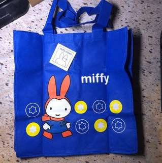 Miffy 環保袋 Reusable Shopping Eco Bag