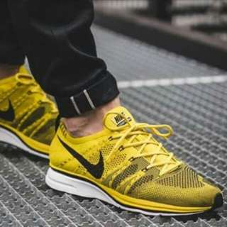 "Flyknit Trainer ""Bright Citron"""
