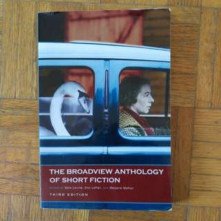 Broadview anthology of short Fiction