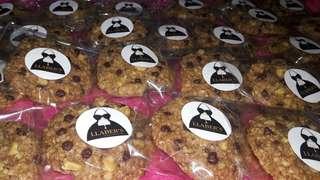 Oatmeal chocochips walnut cookies