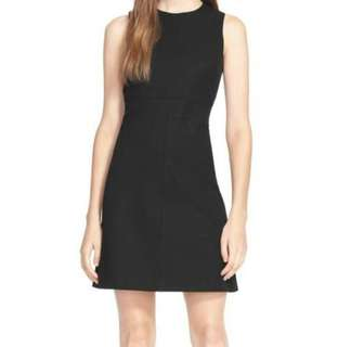 BNWT Theory Sheath Seamed Black Dress