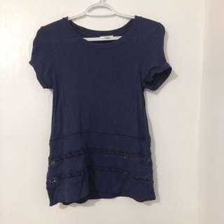 Aritzia Lace Shirt