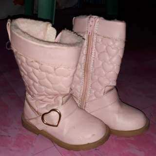 H&M Pink Boots for FREE