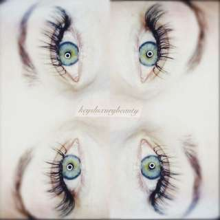 Only $55 eyelash extensions