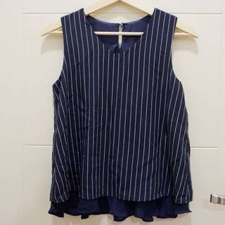 Donker stripes wide tanktop