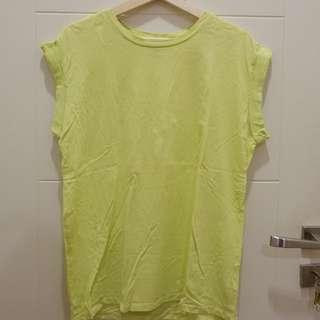 Neon oversize top