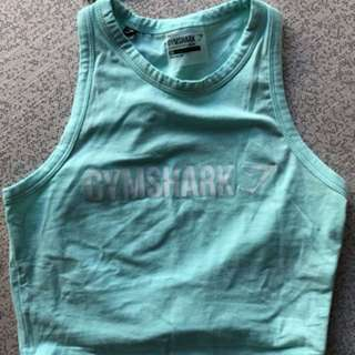 New Gym Shark Tied Top (XS)