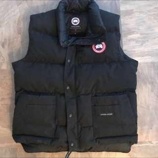 Canada goose vest men's size large