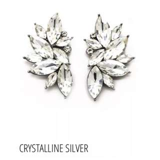 Sienna Elizabeth 'Crystalline' Swarovski Couture Earrings