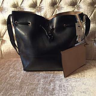 Nordstrom Faux Leather Bucket Bag