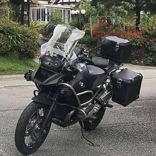2013 BMW R1200GS Adv Triple Black