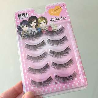Natural False Lashes Pack