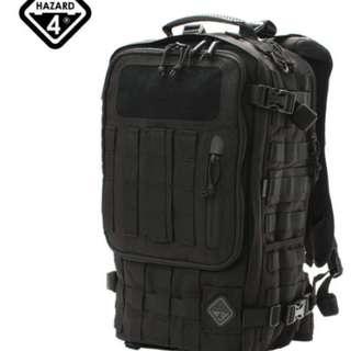 Black Hazard 4 Second Front Backpack