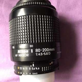 AF nikkor 80-200mm