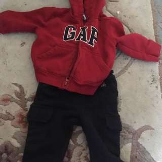 6/12 baby boy gap outfit